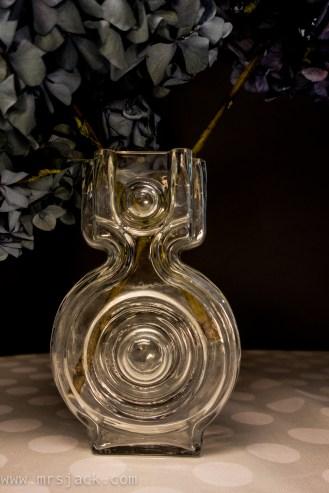 Glass vase, Aitan lukko, Helena Tynell