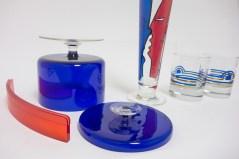 1980s glassware