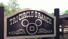Tri-Circle D Ranch at Disney's Fort Wilderness Resort.