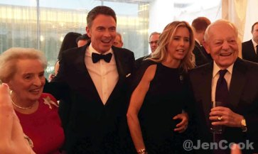Tim Daly and Tea Leoni at WHCD.