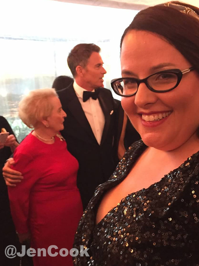 Tim Daly at the White House Correspondents Dinner.