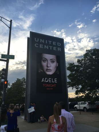 Adele in Chicago