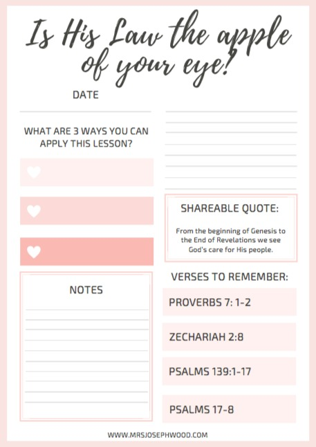 Proverbs Journal Page
