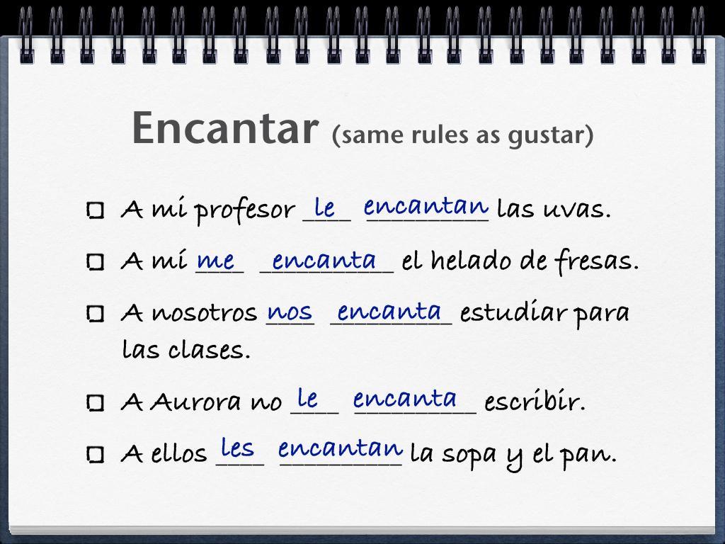 La Gramatica