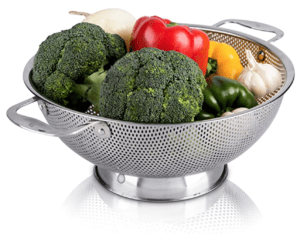 best strainer for low carb food prep