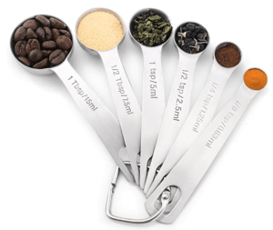 measuring spoons for keot