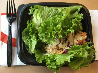 Low Carb Chick-Fil-A Grilled Chicken Cool Wrap