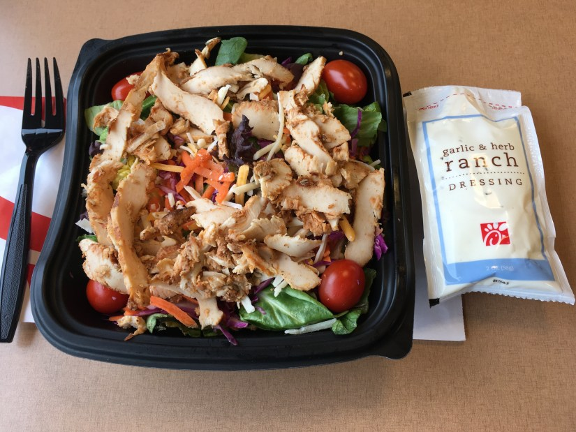 Low Carb Chick-Fil-A Spicy Southwest Salad