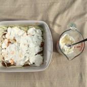 Low Carb Zucchini Lasagna - Ricotta Layer 1