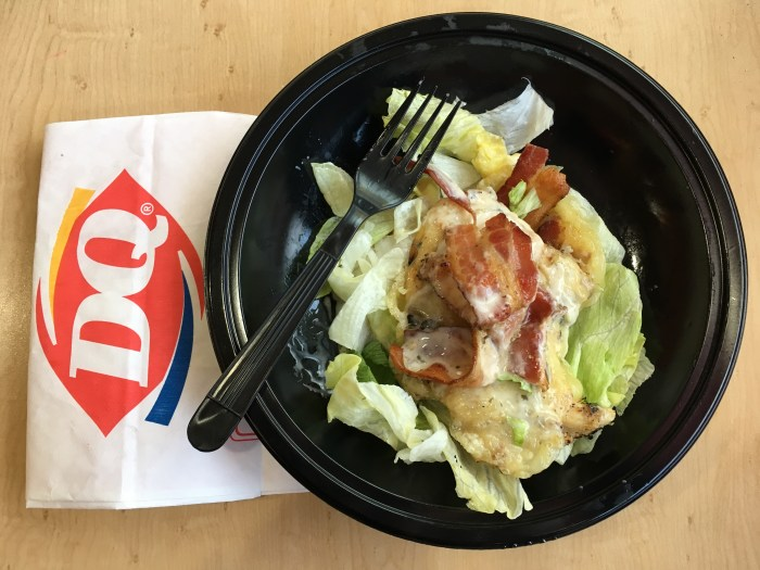 keto at dairy queen