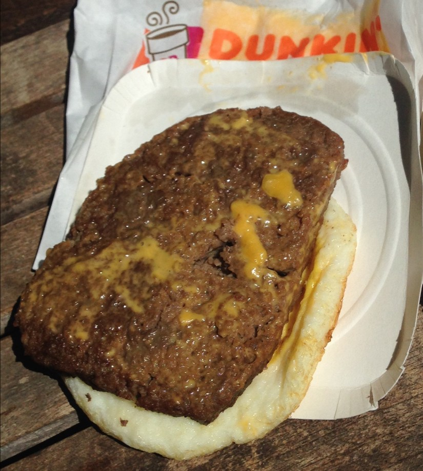 Low Carb Dunkin Donuts Angus Steak Egg & Cheese