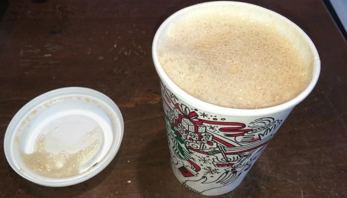Low Carb Starbucks Latte
