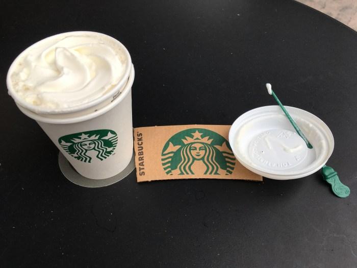 Niedriger Carb Starbucks weißer Schokoladen-Mokka