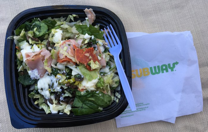 Low Carb Subway - Italian BMT Salad