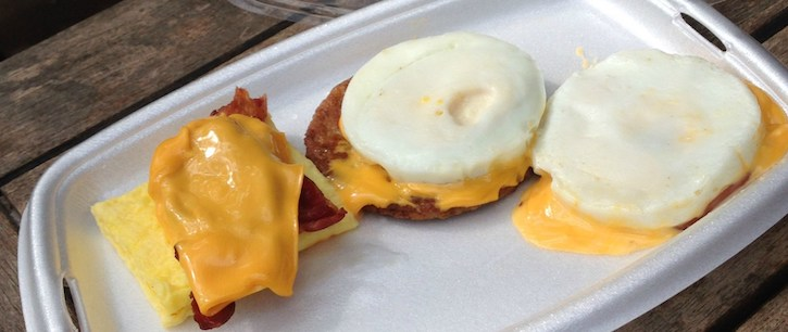 Low Carb McDonald's Keto Breakfast