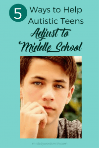 5 Ways to Help Autistic Teens Adjust to Middle School