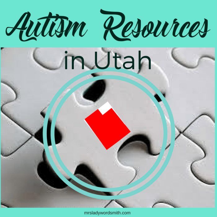 Autism Resources in Utah