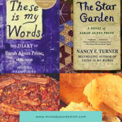 Baked Beans, Biscuits, and a Good Book: Recipes to Make for These Is My Words