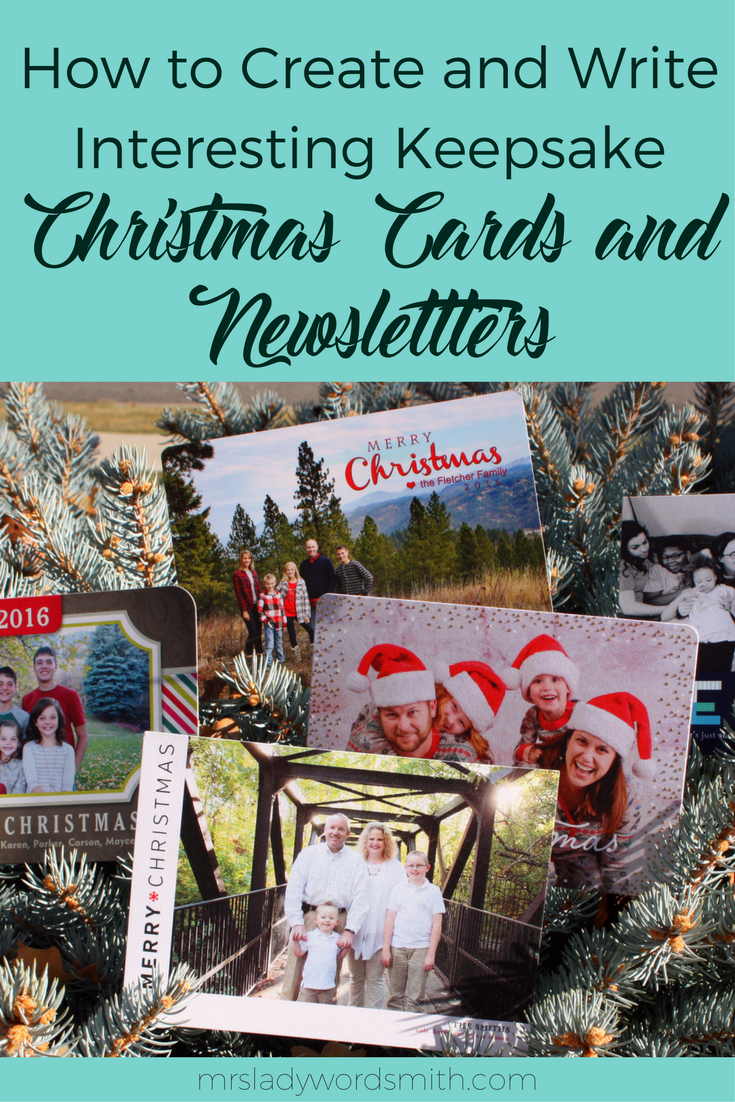 Do you send out an annual Christmas card or newsletter? These tips can help you create an interesting, memorable card you'll be proud to send. #christmas #holiday #card #newsletter