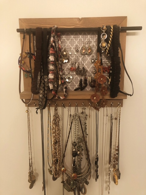 Jewelry Organizer for Wall