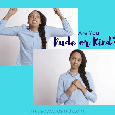 10 Questions to Ask Yourself: Am I Rude or Kind? Then Show Your Children Kindness