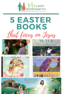 5 Easter Books That Focus on Jesus Christ