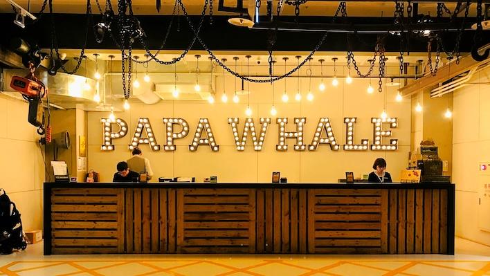 hotel papa whale