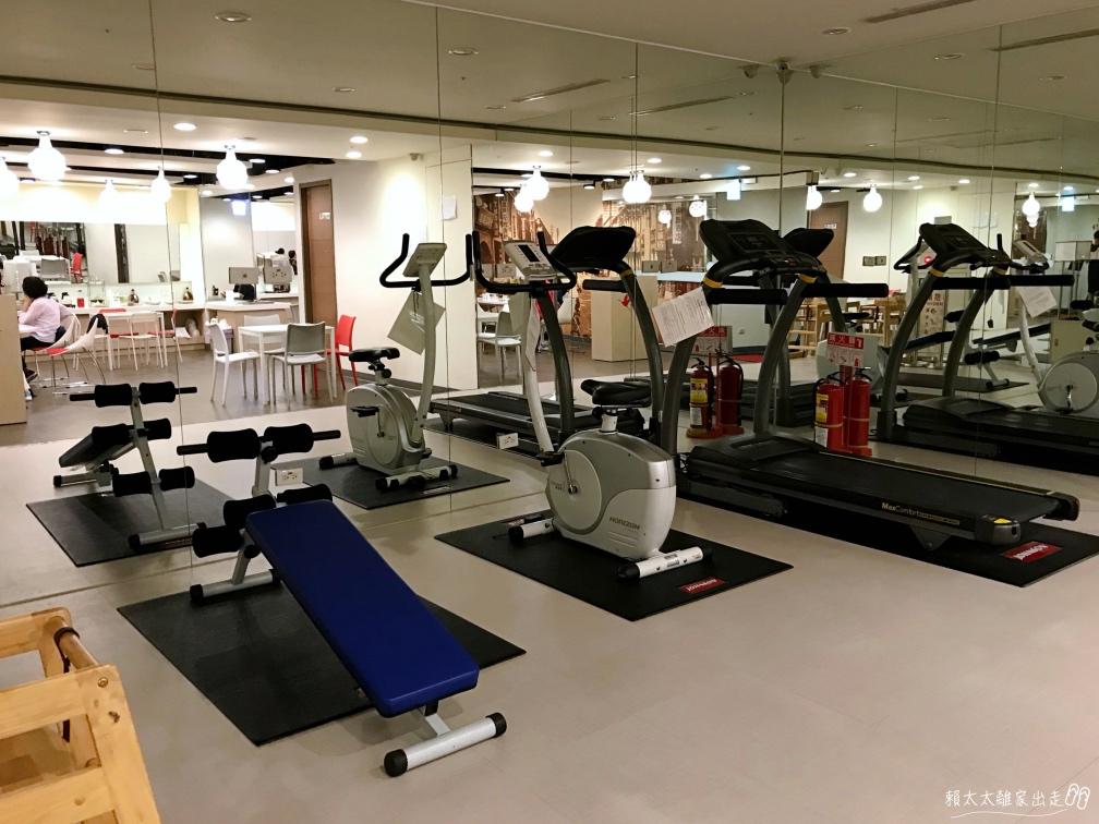 西悠飯店一樓健身房