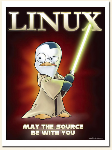 Learning Linux- may the source be with you
