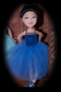 Navy Blue Ballerina Lucy