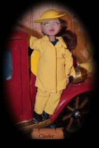 Firefighter Girl Cinder