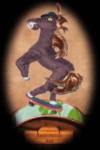 Horse Skateboard