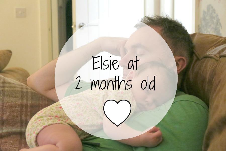 Elsie at 2 months old