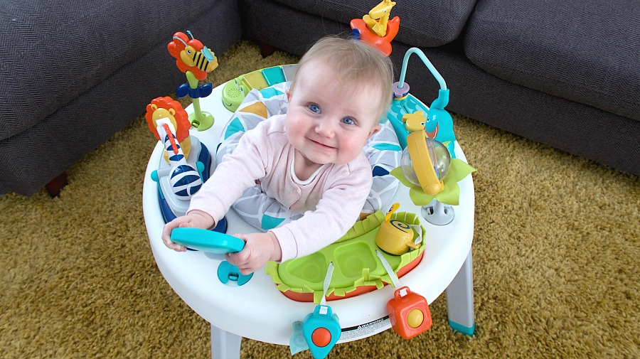 Fisher-Price 2-in-1 Sit-to-Stand Activity Centre **REVIEW**