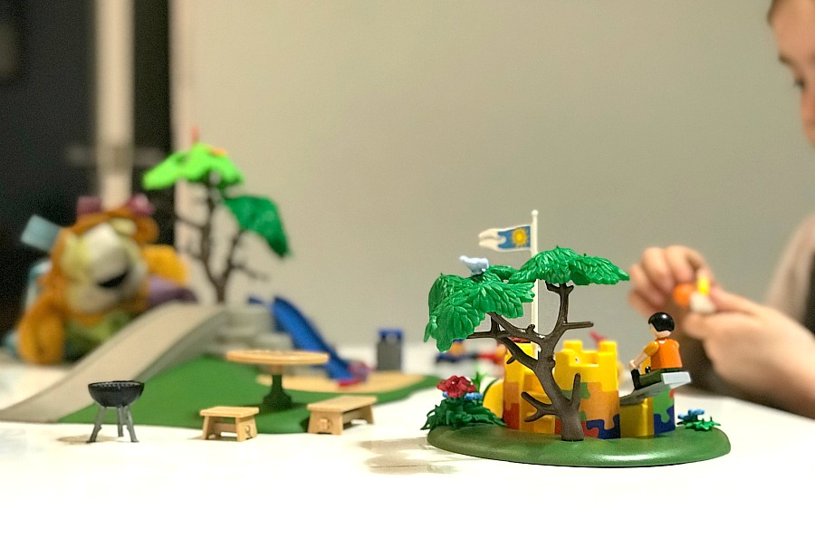 Reviewing the Playmobil Children's Playground – Our First Ever Set!