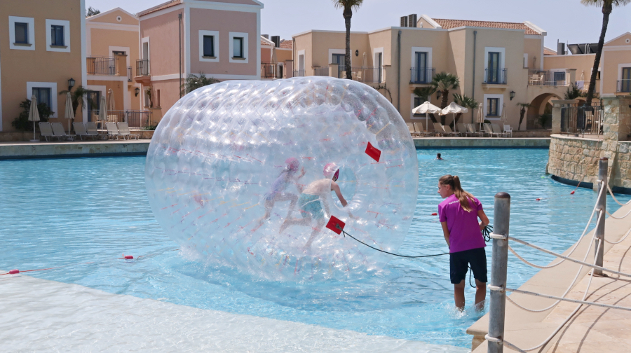 water sports at the holiday village aliathon, cyprus