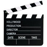 For the film lovers out there, getting them an actual slate could be a great gift! I have one that I bought in LA (although I know you can get it online for 30 bucks I guess), and I've used it both for decorating my room and shooting short films successfully, so I would definitely recommend it!