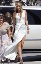 90210 White Dress