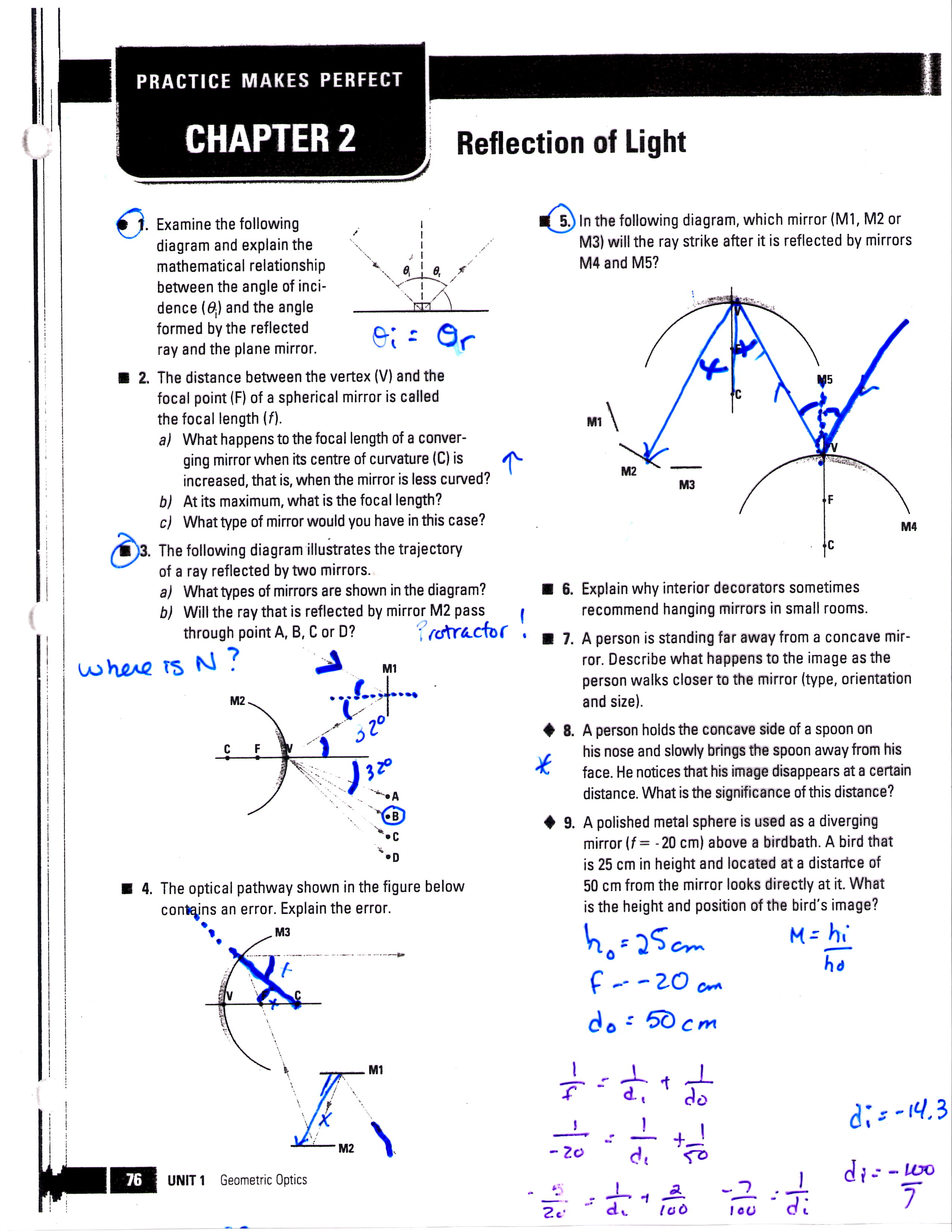 Mrsmartinmath Licensed For Non Commercial Use Only Physics Optics