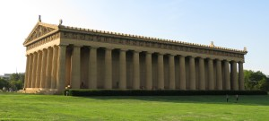 The Parthenon in Nashville, Tennessee