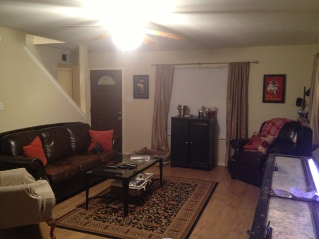 Before Picture: Living Room Remodel