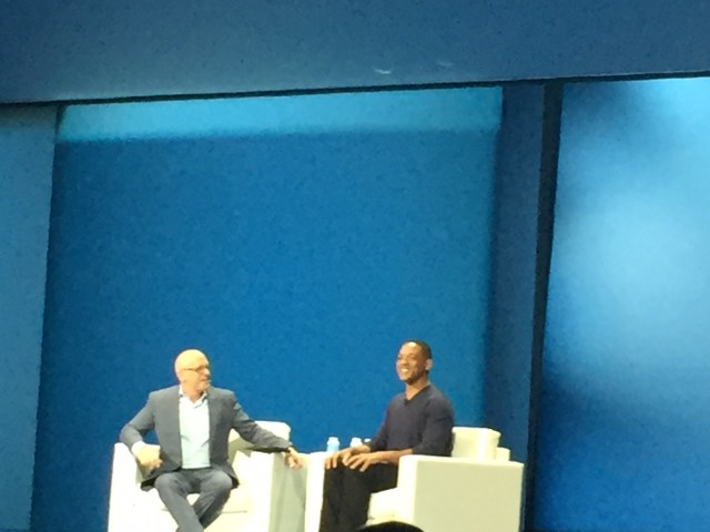 Will Smith interviewed at the IBM InterConnect conference
