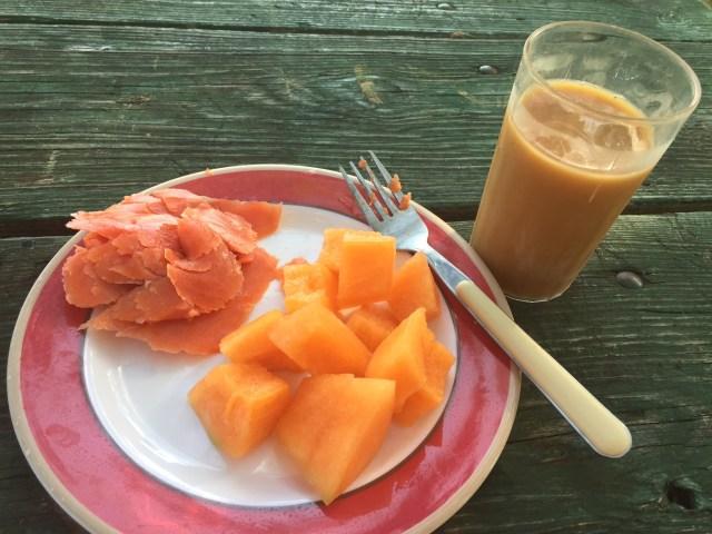 Weight Watchers Friendly Camping Breakfast