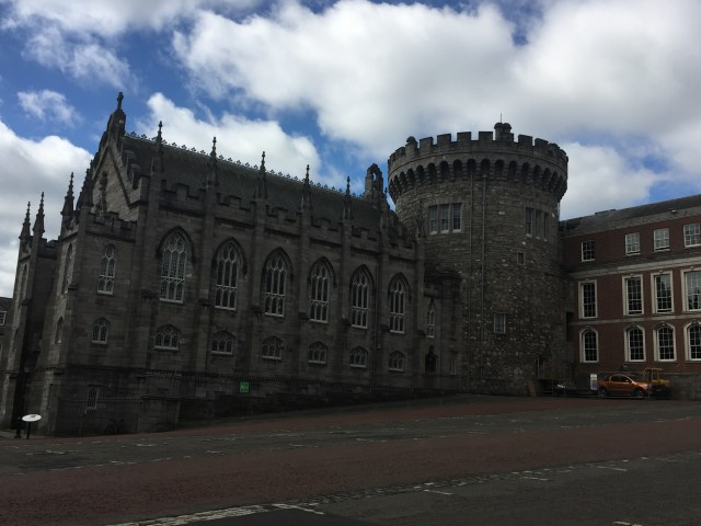 The old chapel of the Dublin Castle.