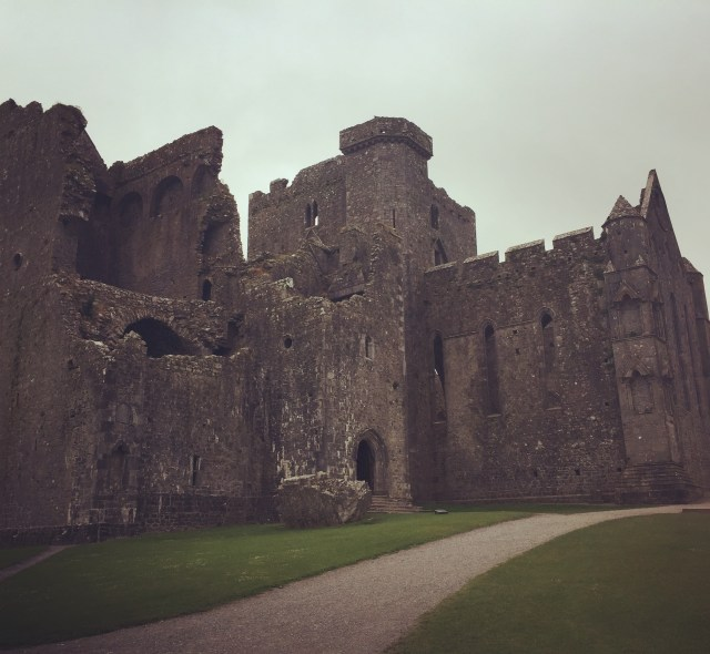 The exterior of the Rock of Cashel