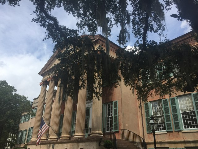An example of the neo-classical style on the College of Charleston campus.