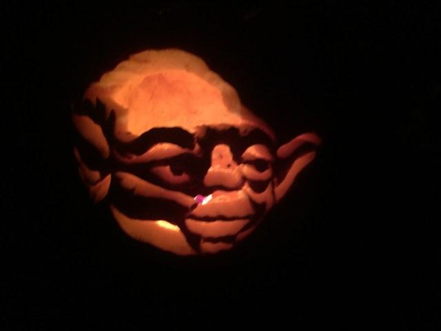 Yoda made an appearance
