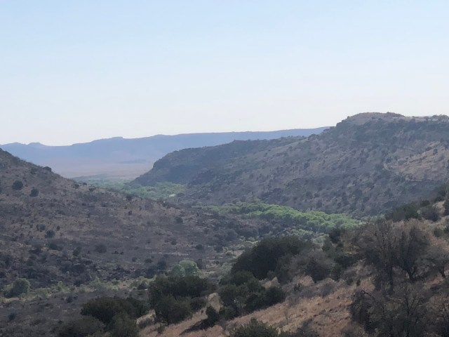 The Davis Mountains, as seen on a hike during our West Texas road trip adventure.