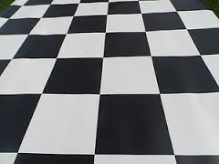 Help  How can I can my porcelain floor tiles to shine    Mrs Mopp chequered floor  Answer  Porcelain tiles