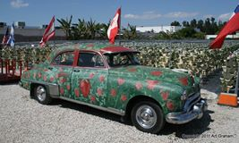 strawberry car